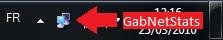 GabNetStats icon in system tray