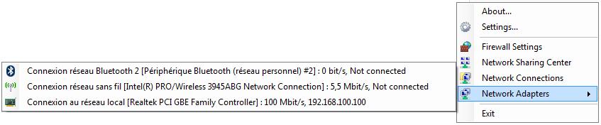 GabNetStats context menu