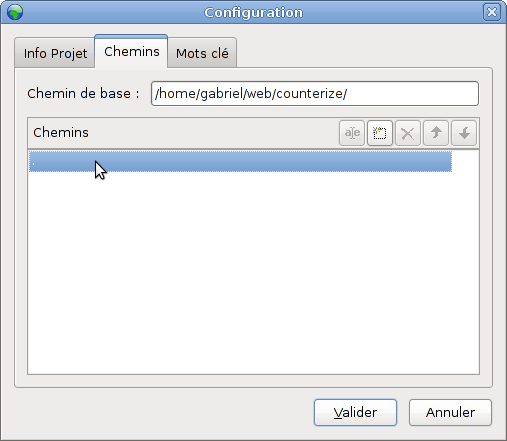 Poedit project configuration, Tab 2