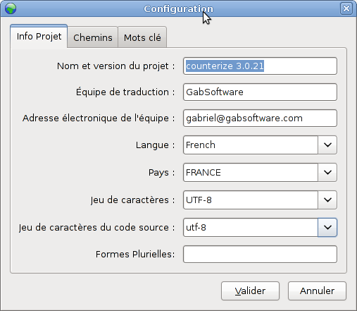 Poedit project configuration