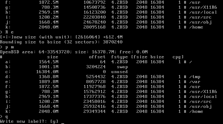 Tutorial: How to install OpenBSD 6 1, step by step – GabSoftware